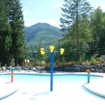The Cottages at Cultus Lake Treehouse Pool 1